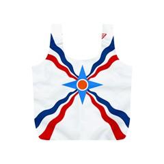 Assyrian Flag  Full Print Recycle Bags (s)  by abbeyz71