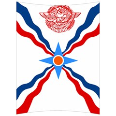 Assyrian Flag  Back Support Cushion by abbeyz71