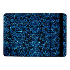 Damask2 Black Marble & Deep Blue Water Samsung Galaxy Tab Pro 10 1  Flip Case by trendistuff