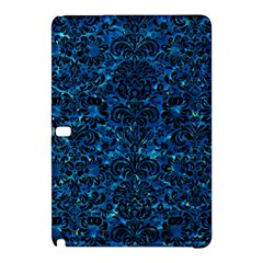 Damask2 Black Marble & Deep Blue Water (r) Samsung Galaxy Tab Pro 10 1 Hardshell Case