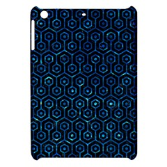 Hexagon1 Black Marble & Deep Blue Water Apple Ipad Mini Hardshell Case by trendistuff