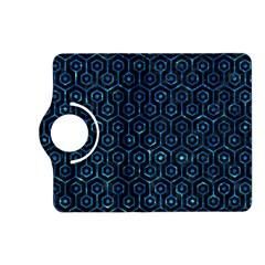 Hexagon1 Black Marble & Deep Blue Water Kindle Fire Hd (2013) Flip 360 Case by trendistuff