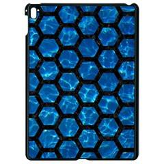 Hexagon2 Black Marble & Deep Blue Water (r) Apple Ipad Pro 9 7   Black Seamless Case by trendistuff