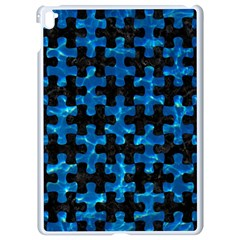 Puzzle1 Black Marble & Deep Blue Water Apple Ipad Pro 9 7   White Seamless Case by trendistuff