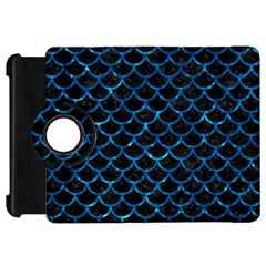 Scales1 Black Marble & Deep Blue Water Kindle Fire Hd 7  by trendistuff