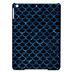 Scales1 Black Marble & Deep Blue Water Ipad Air Hardshell Cases by trendistuff