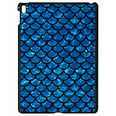 Scales1 Black Marble & Deep Blue Water (r) Apple Ipad Pro 9 7   Black Seamless Case by trendistuff
