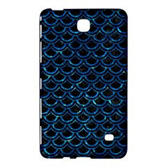 Scales2 Black Marble & Deep Blue Waterck Marble & Deep Blue Water Samsung Galaxy Tab 4 (7 ) Hardshell Case  by trendistuff