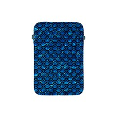 Scales2 Black Marble & Deep Blue Water (r) Apple Ipad Mini Protective Soft Cases by trendistuff