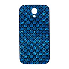 Scales2 Black Marble & Deep Blue Water (r) Samsung Galaxy S4 I9500/i9505  Hardshell Back Case by trendistuff