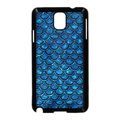 Scales2 Black Marble & Deep Blue Water (r) Samsung Galaxy Note 3 Neo Hardshell Case (black) by trendistuff