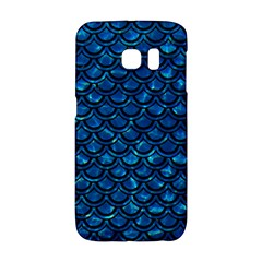Scales2 Black Marble & Deep Blue Water (r) Galaxy S6 Edge by trendistuff