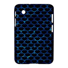 Scales3 Black Marble & Deep Blue Water Samsung Galaxy Tab 2 (7 ) P3100 Hardshell Case  by trendistuff