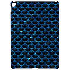 Scales3 Black Marble & Deep Blue Water Apple Ipad Pro 12 9   Hardshell Case by trendistuff