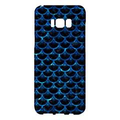 Scales3 Black Marble & Deep Blue Water Samsung Galaxy S8 Plus Hardshell Case  by trendistuff