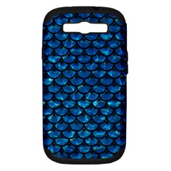 Scales3 Black Marble & Deep Blue Water (r) Samsung Galaxy S Iii Hardshell Case (pc+silicone) by trendistuff