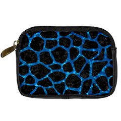 Skin1 Black Marble & Deep Blue Water (r) Digital Camera Cases by trendistuff