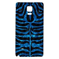 Skin2 Black Marble & Deep Blue Water Galaxy Note 4 Back Case by trendistuff