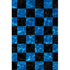 Square1 Black Marble & Deep Blue Water 5 5  X 8 5  Notebooks by trendistuff