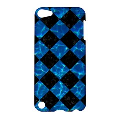 Square2 Black Marble & Deep Blue Water Apple Ipod Touch 5 Hardshell Case by trendistuff