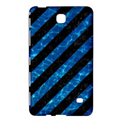 Stripes3 Black Marble & Deep Blue Water Samsung Galaxy Tab 4 (8 ) Hardshell Case  by trendistuff