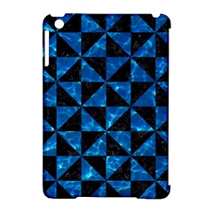 Triangle1 Black Marble & Deep Blue Water Apple Ipad Mini Hardshell Case (compatible With Smart Cover) by trendistuff