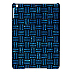 Woven1 Black Marble & Deep Blue Water Ipad Air Hardshell Cases by trendistuff
