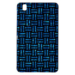 Woven1 Black Marble & Deep Blue Water Samsung Galaxy Tab Pro 8 4 Hardshell Case by trendistuff