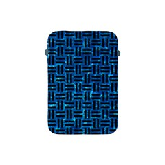 Woven1 Black Marble & Deep Blue Water (r) Apple Ipad Mini Protective Soft Cases by trendistuff