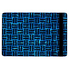 Woven1 Black Marble & Deep Blue Water (r) Ipad Air Flip by trendistuff