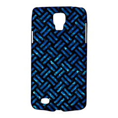 Woven2 Black Marble & Deep Blue Water Galaxy S4 Active by trendistuff