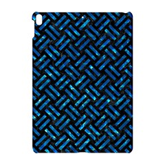 Woven2 Black Marble & Deep Blue Water Apple Ipad Pro 10 5   Hardshell Case