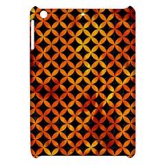 Circles3 Black Marble & Fire Apple Ipad Mini Hardshell Case by trendistuff