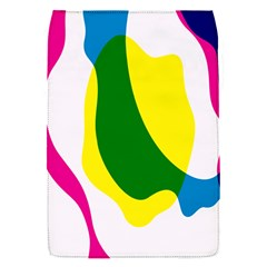 Anatomicalrainbow Wave Chevron Pink Blue Yellow Green Flap Covers (s)  by Mariart
