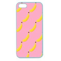 Banana Fruit Yellow Pink Apple Seamless Iphone 5 Case (color) by Mariart