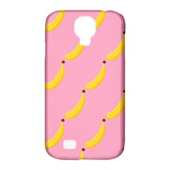 Banana Fruit Yellow Pink Samsung Galaxy S4 Classic Hardshell Case (pc+silicone) by Mariart