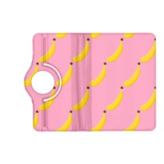 Banana Fruit Yellow Pink Kindle Fire Hd (2013) Flip 360 Case by Mariart
