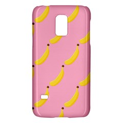 Banana Fruit Yellow Pink Galaxy S5 Mini by Mariart