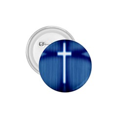 Blue Cross Christian 1 75  Buttons by Mariart