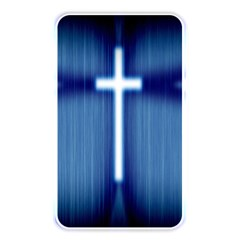 Blue Cross Christian Memory Card Reader by Mariart