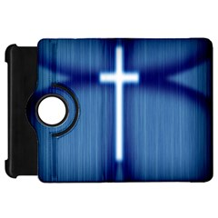 Blue Cross Christian Kindle Fire Hd 7  by Mariart