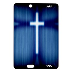 Blue Cross Christian Amazon Kindle Fire Hd (2013) Hardshell Case by Mariart