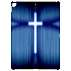 Blue Cross Christian Apple Ipad Pro 12 9   Hardshell Case by Mariart