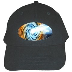 A Blazar Jet In The Middle Galaxy Appear Especially Bright Black Cap by Mariart