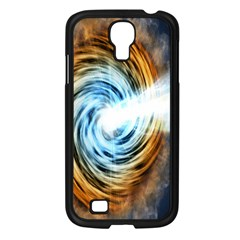 A Blazar Jet In The Middle Galaxy Appear Especially Bright Samsung Galaxy S4 I9500/ I9505 Case (black) by Mariart