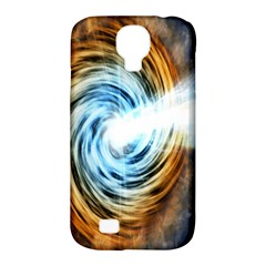 A Blazar Jet In The Middle Galaxy Appear Especially Bright Samsung Galaxy S4 Classic Hardshell Case (pc+silicone) by Mariart