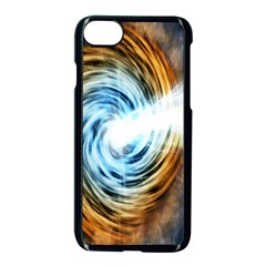 A Blazar Jet In The Middle Galaxy Appear Especially Bright Apple Iphone 7 Seamless Case (black) by Mariart