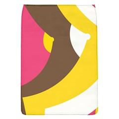 Breast Pink Brown Yellow White Rainbow Flap Covers (s)  by Mariart