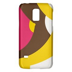Breast Pink Brown Yellow White Rainbow Galaxy S5 Mini by Mariart