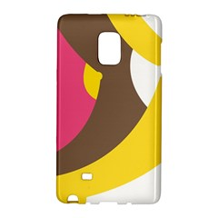 Breast Pink Brown Yellow White Rainbow Galaxy Note Edge by Mariart